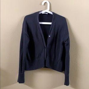 Everlane Cotton Long-Sleeve Cardigan